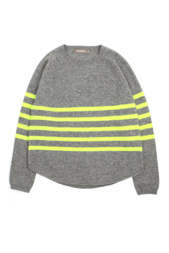 Stripe Round Neck