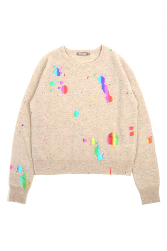 Rainbow Foil Mini Sweat