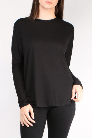 L/S Wool Jersey Top