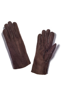 Curly Shearling Santos Gloves