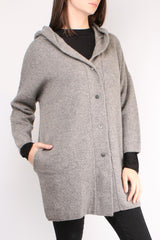 Cashmere Hooded Robe