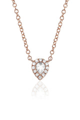 EF Collection Diamond Teardrop Choker