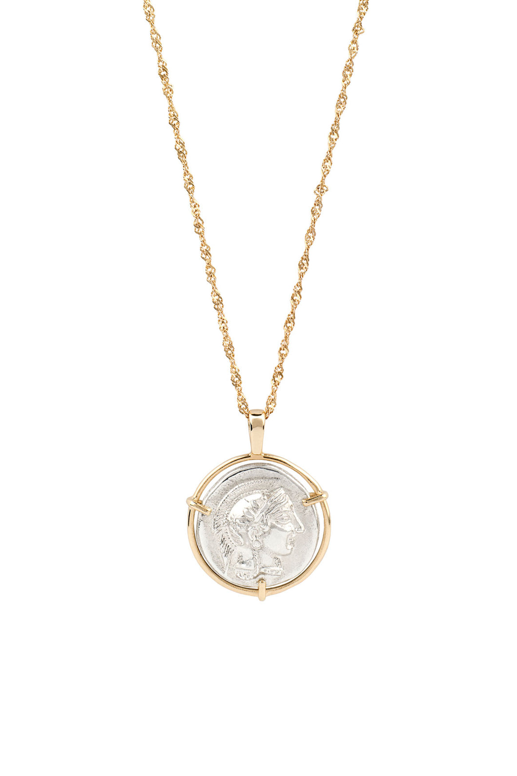 Athena Medal Necklace
