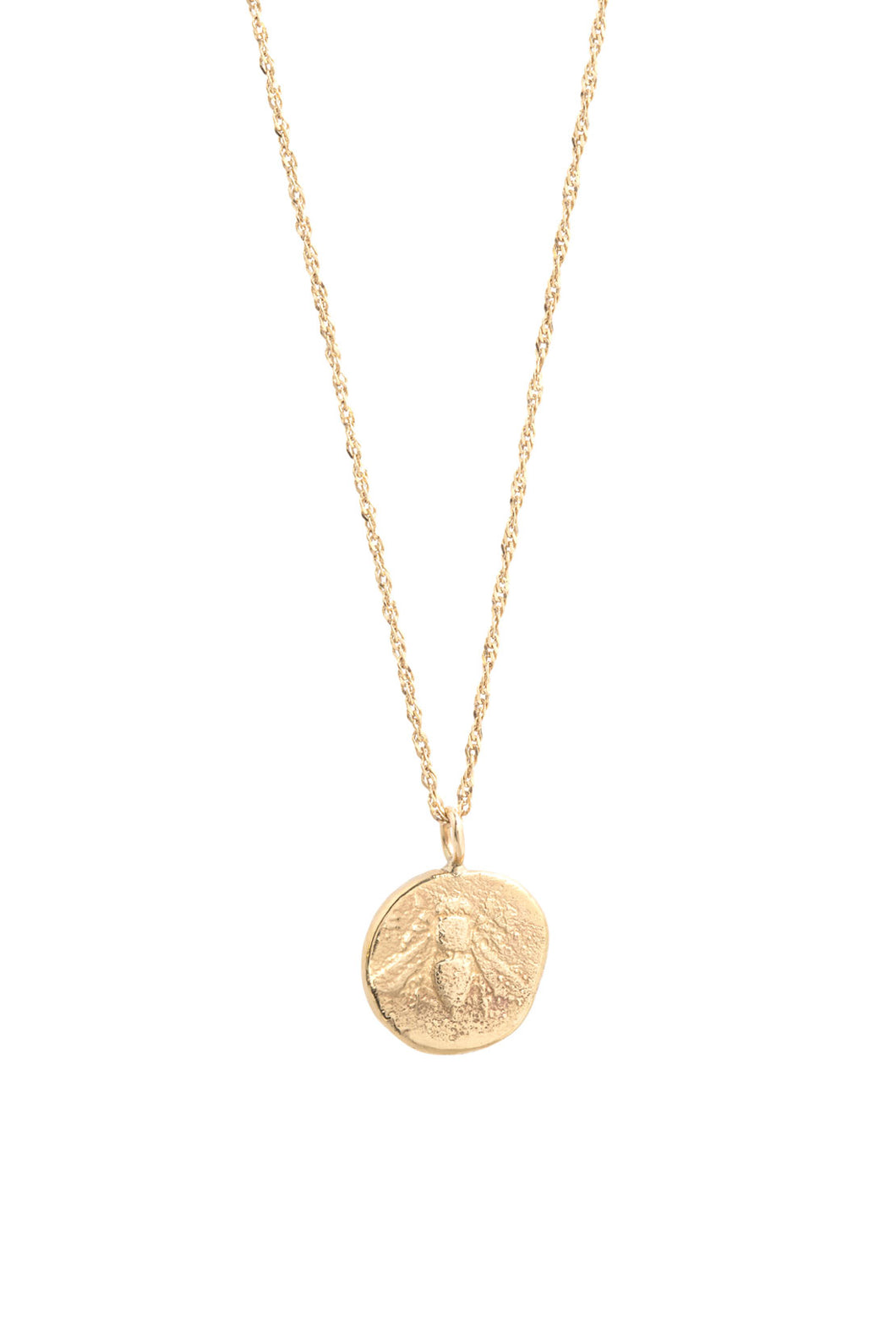 Icon Bee Medal Necklace