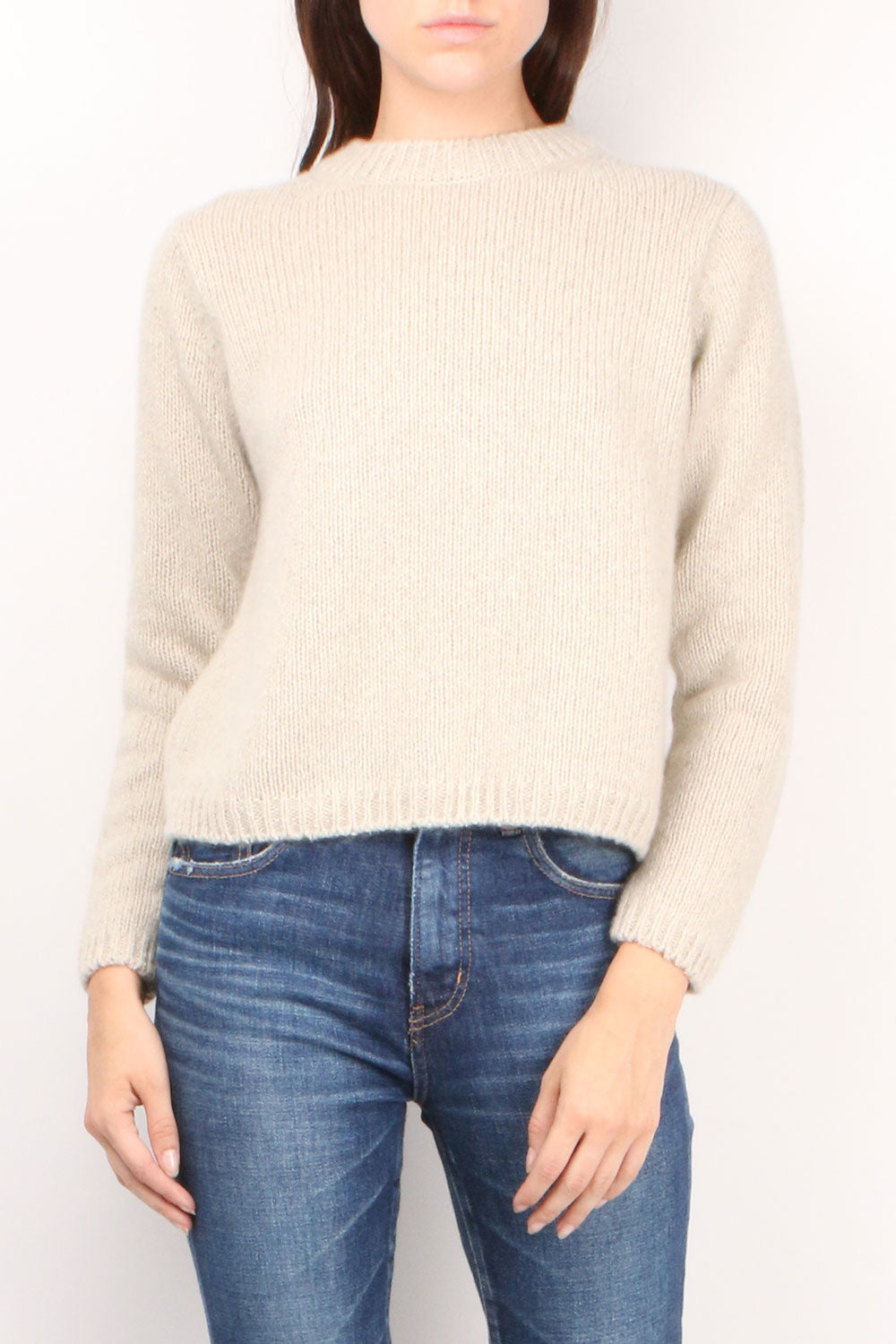 Sable Tweed Pullover