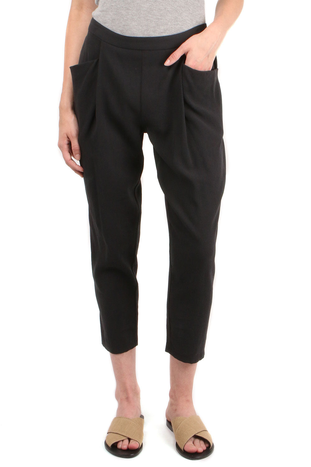 Double Easy Tuck Pants