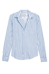 Barry Blue Stripe Button Down