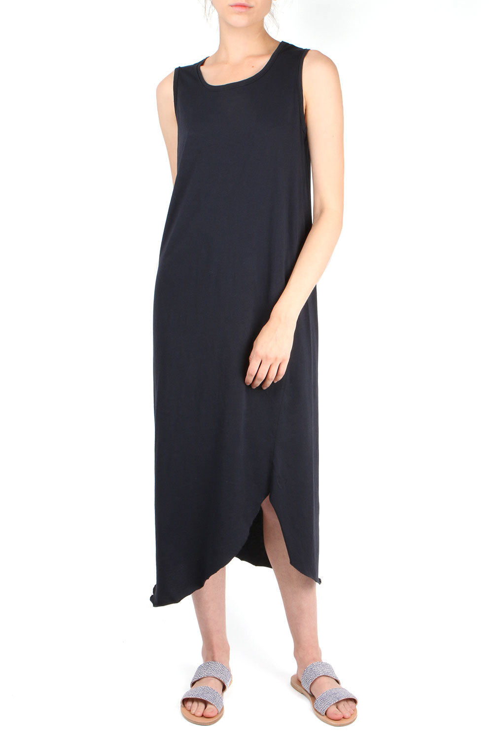 Relaxed Asymmetric Tank Dress