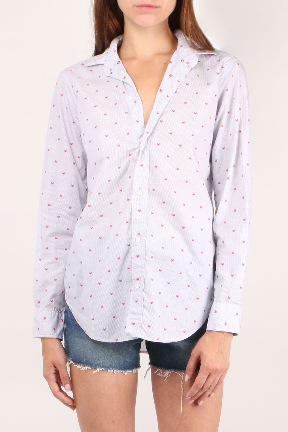 Frank Red Crab Button Down
