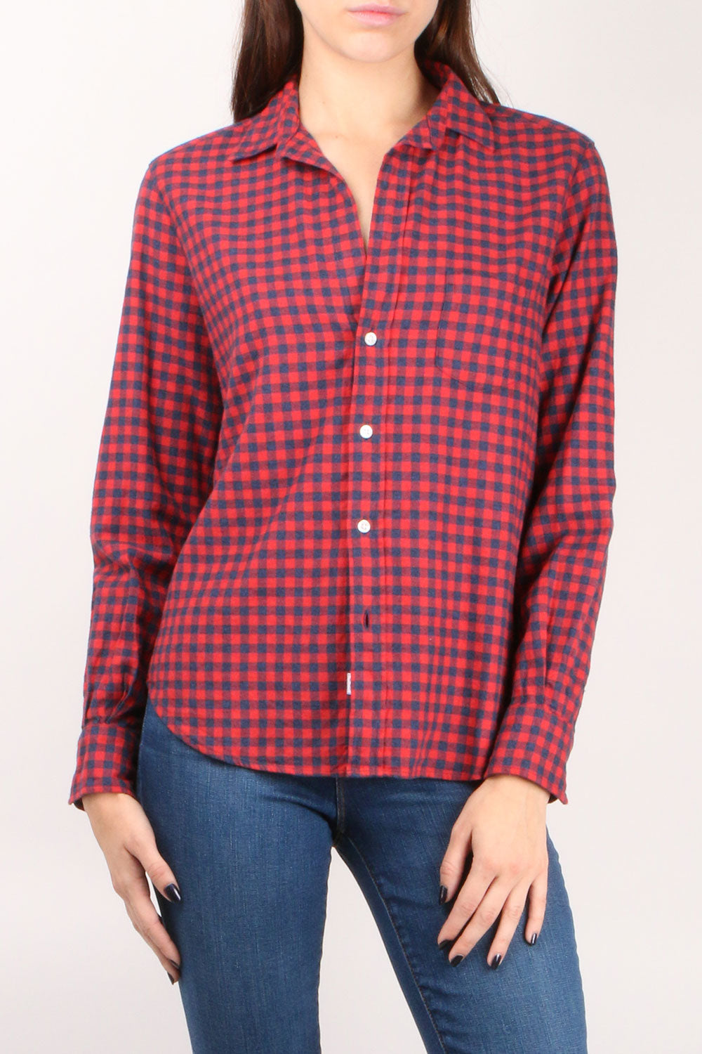 Eileen L/S Button Down Buffalo Check