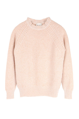 Ribbed Mouline Sweater