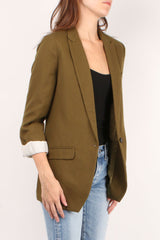 Wool Structured Jacket