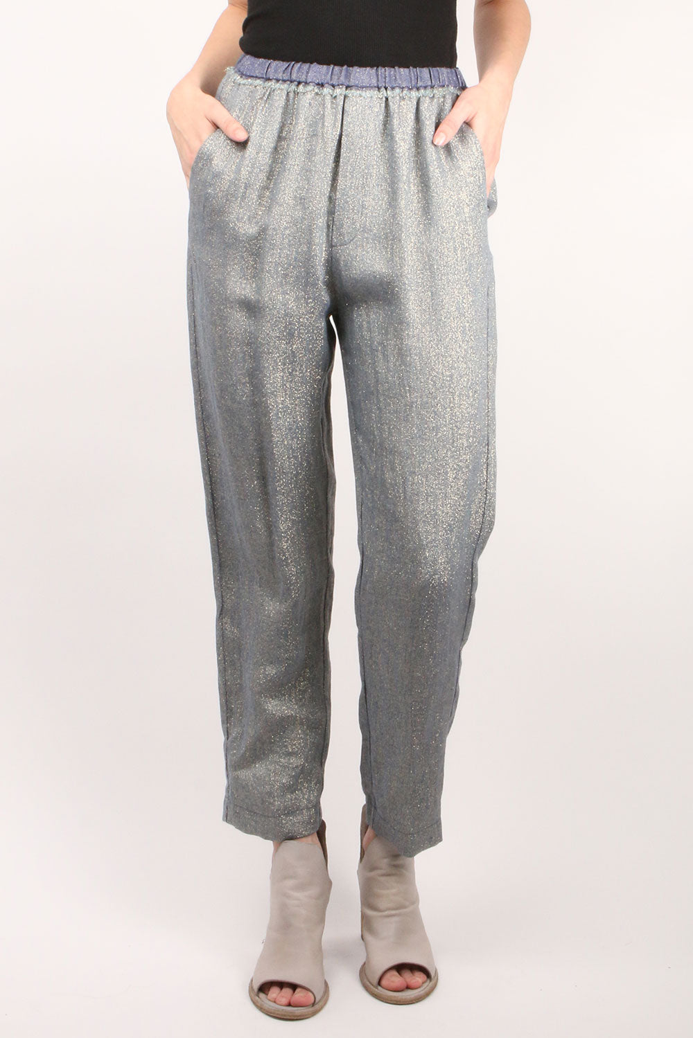 Linen Diagonal Jogging