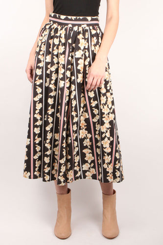Guadaloupe Flared Skirt