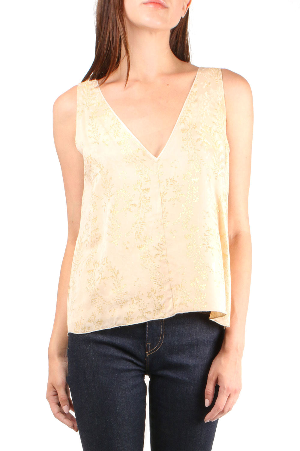 Gipsy Gold Jacquard Top