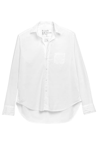 Eileen White Poplin Button Down