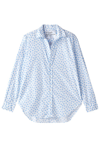 Frank Blue Hearts Button Down
