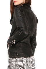Distressed Leather Jacket