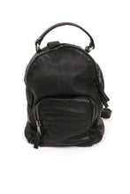 Load image into Gallery viewer, Black Leather Backpack From Giorgio Brato