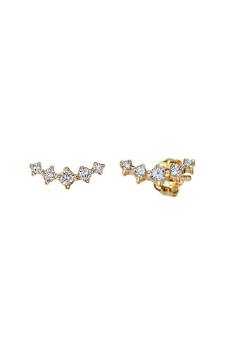 Gabriela Artigas Geometric Diamond Earrings