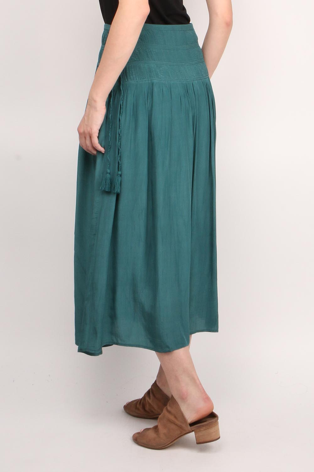 Hemmingway Pleated Skirt