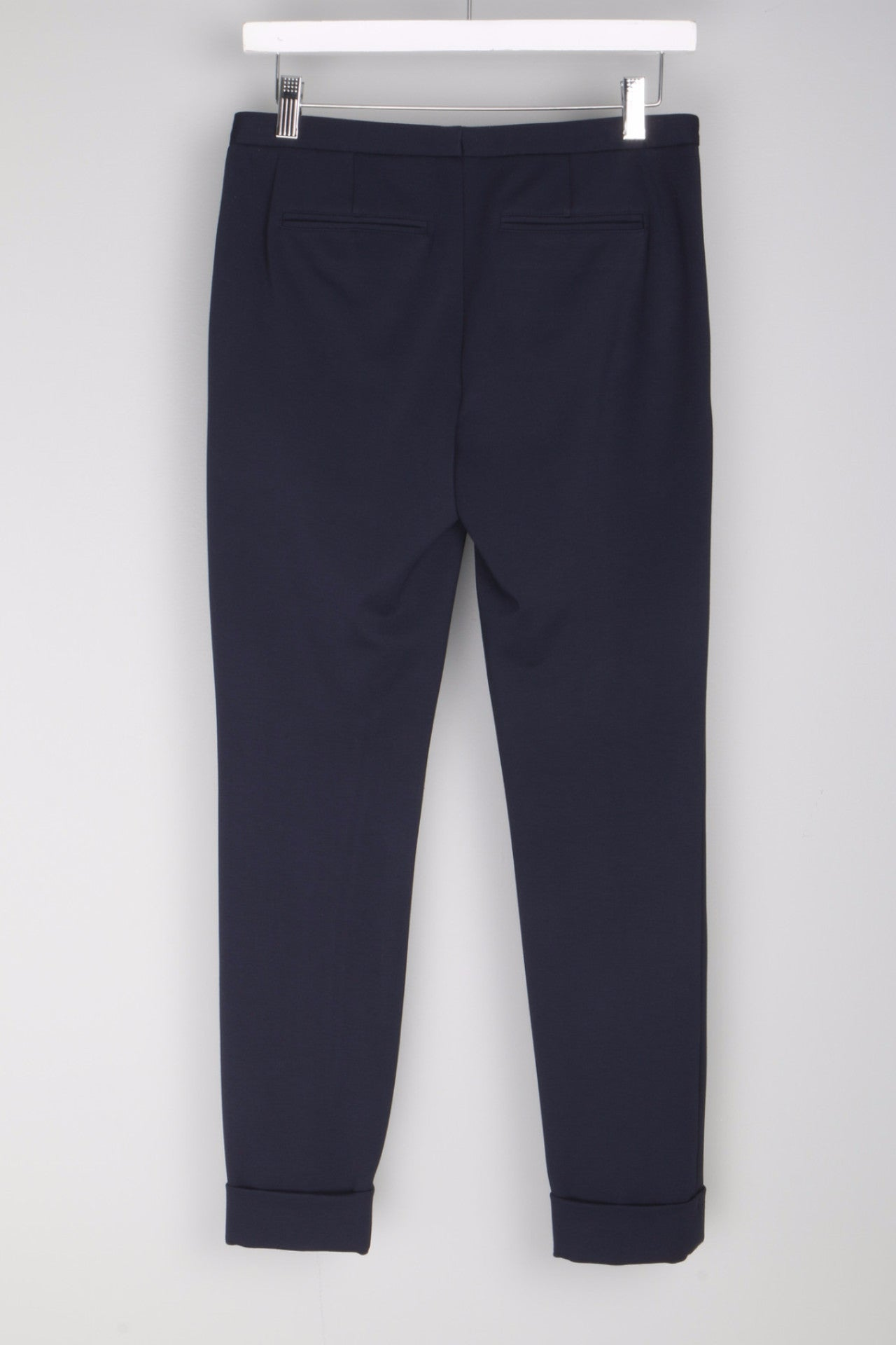 Ponte Slim Pant Navy Back