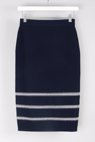 Tower Trim Pencil Skirt