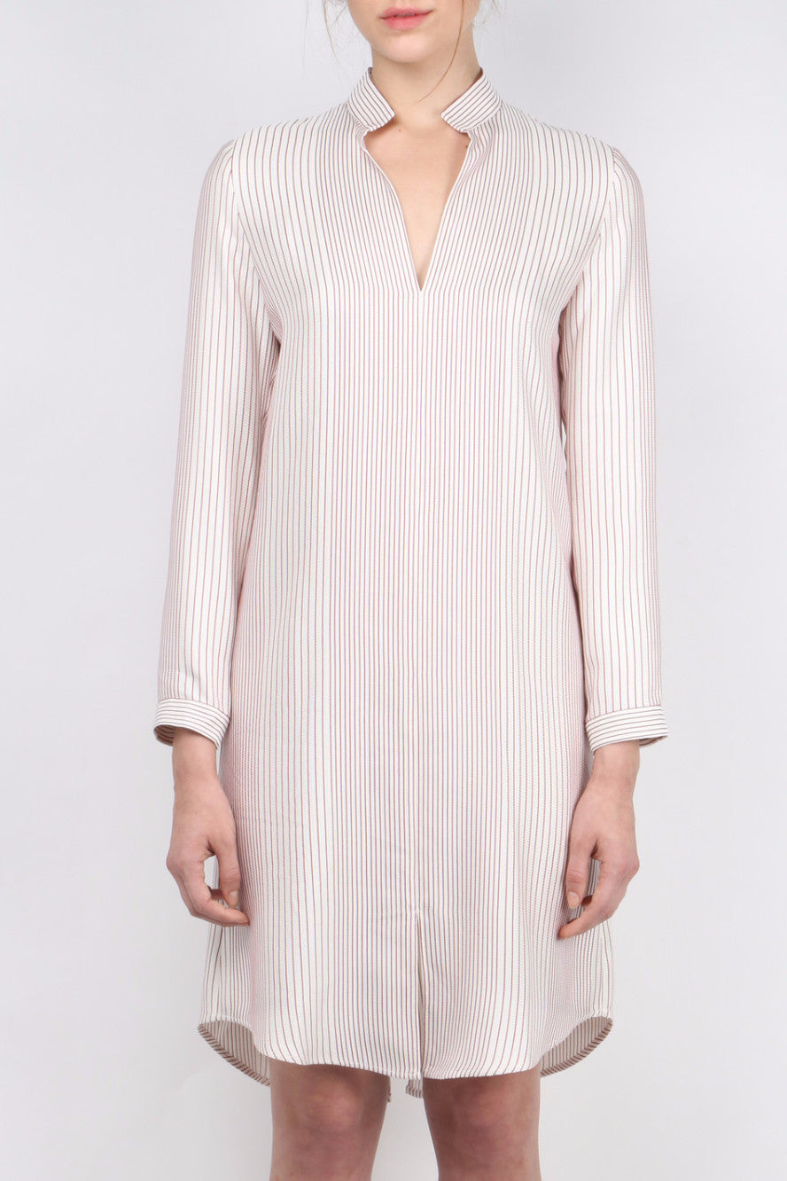 Atea Oceanie Striped Tunic Dress