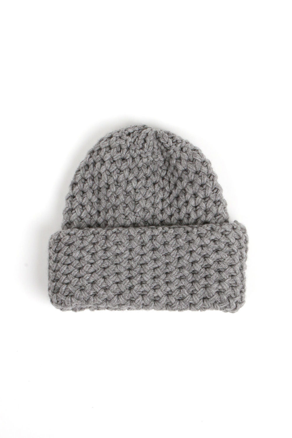 Knit Grey Hat