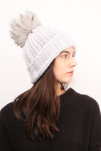 Light Grey Beanie
