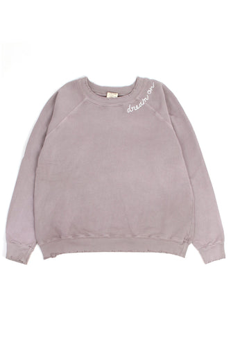 Dream On Mauve Sweatshirt