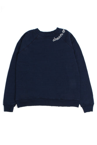 Dream On Navy Sweatshirt