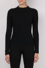 Carven Jersey Long Sleeve Top
