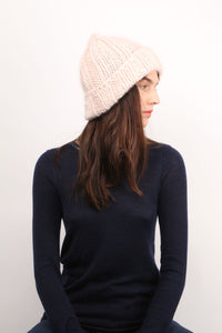 Light Pink Knitted Hat