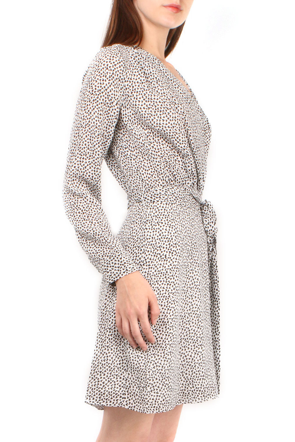 Diego Faux Wrap Dress