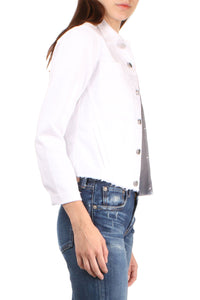 Janelle Slim Raw Jacket