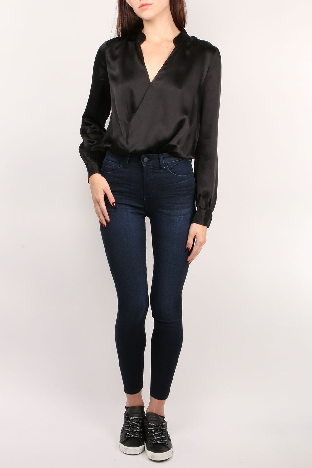 Marcella Black Bodysuit