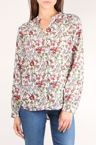 Bardot Band Floral Blouse