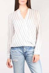 Kyla Draped Blouse