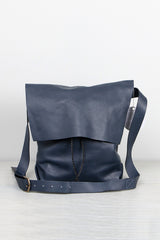 Stitch and Tickle Large Bolsa in Navy