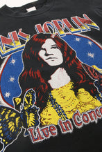 Load image into Gallery viewer, Janis Joplin Crop Tee Shirt from Madeworn