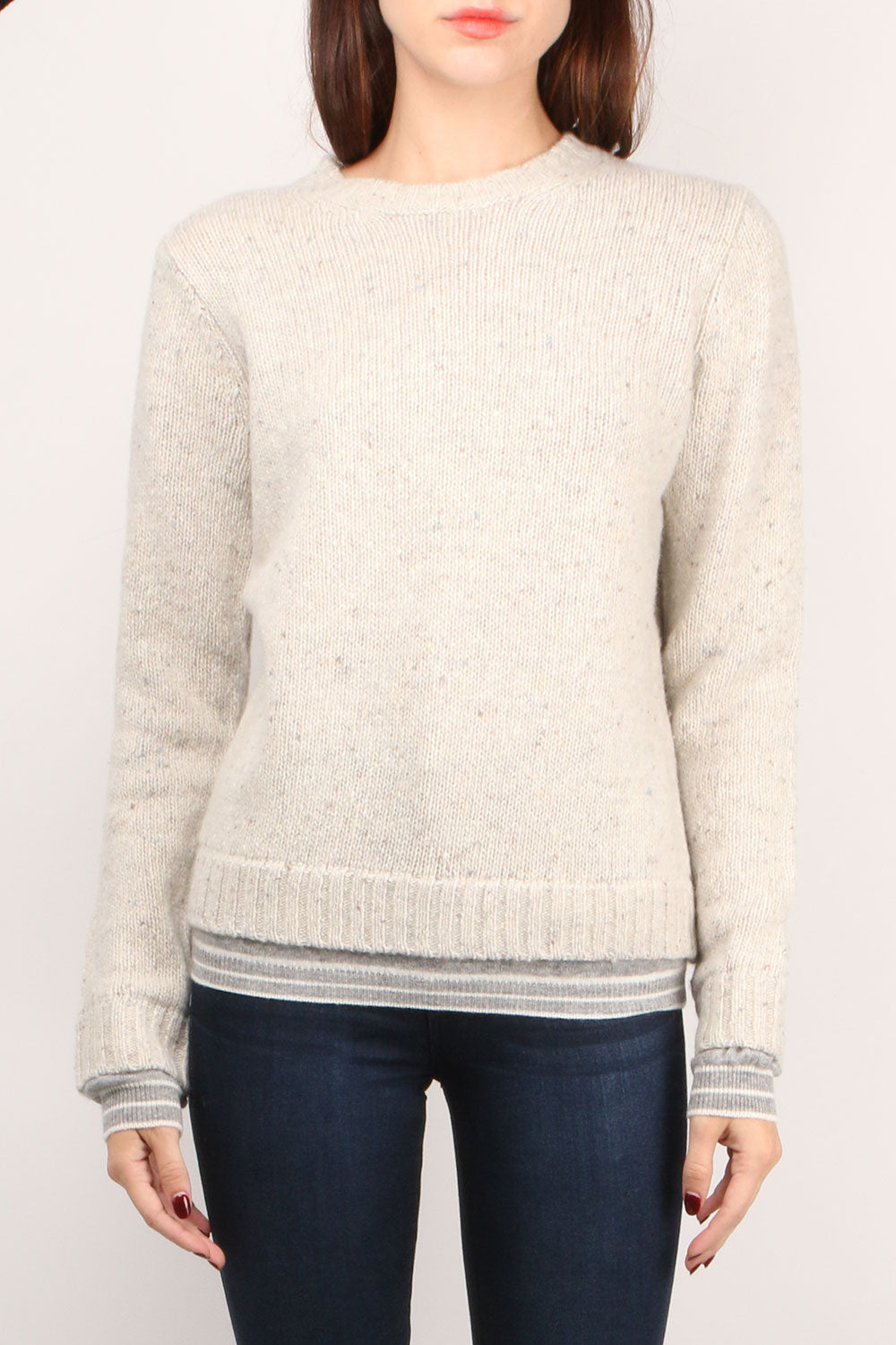 Wool Cashmere L/S Crew
