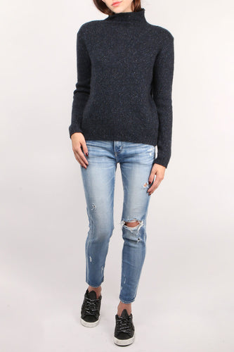 Cashmere L/S Turtleneck