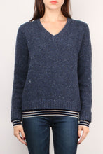 Load image into Gallery viewer, Wool Cashmere L/S V-Neck