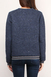 Wool Cashmere L/S V-Neck