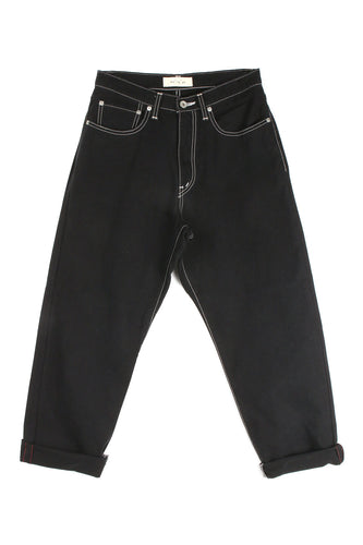 Denim Black Trouser