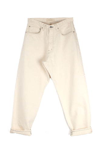 Denim White Trouser