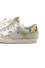 Load image into Gallery viewer, Denim Worn Out Look Low Top Sneakers by Philippe Model