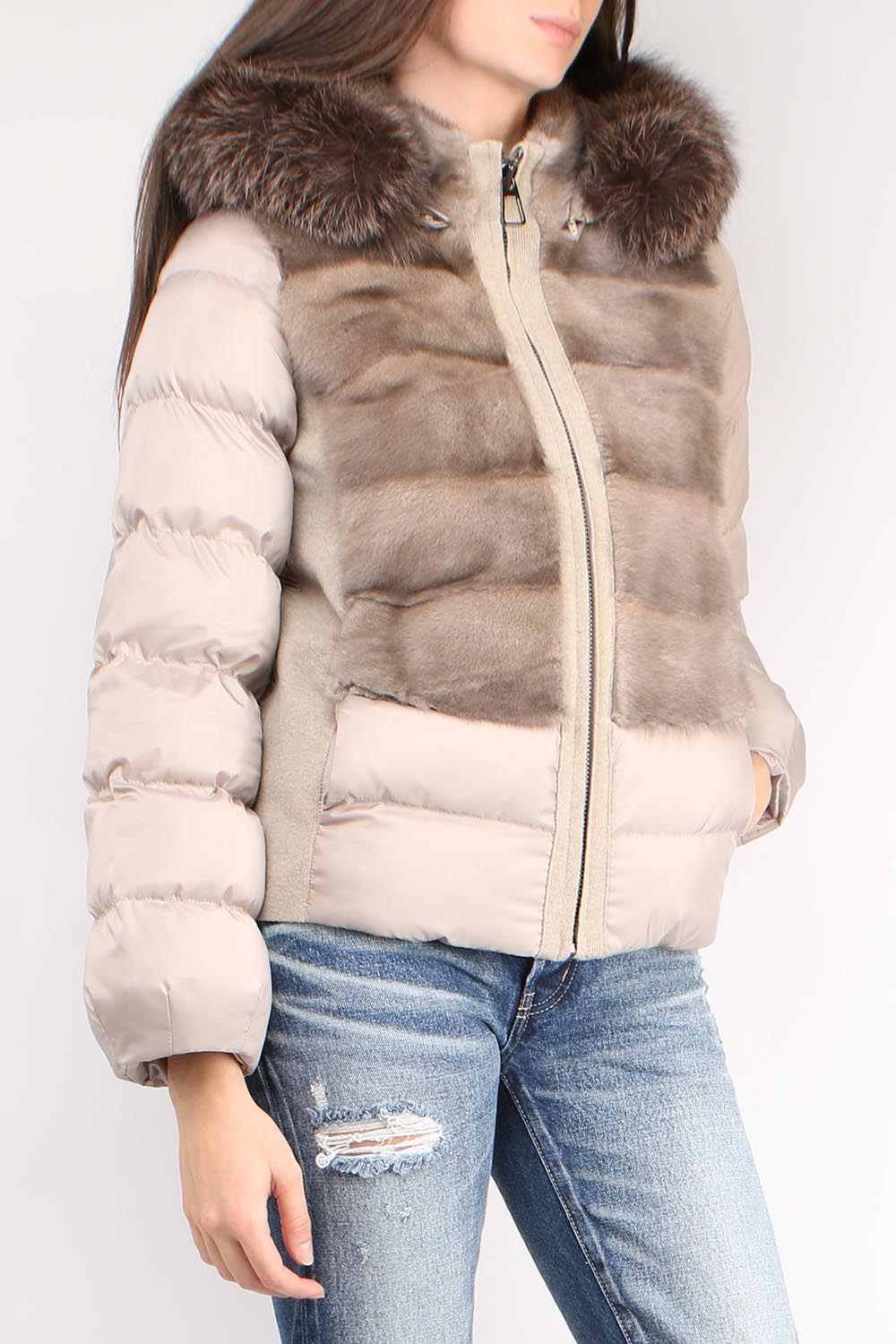 Mink Down Jacket