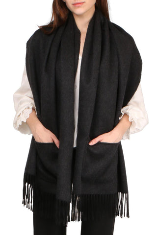 Reversible Stole With Pockets